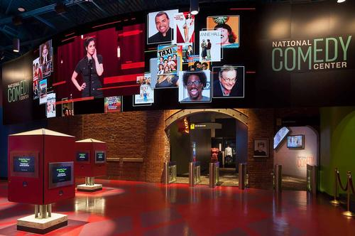 JRA-Designed National Comedy Center Ranks 2nd on USA Today Best New Attractions List