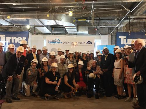 Holocaust and Humanity Center Breaks Ground on New Location at Cincinnati Union Terminal