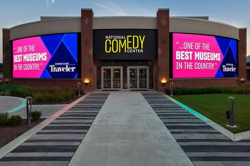 No Joke! The National Comedy Center Officially Named America's Comedy HQ