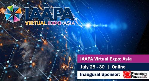 PREMIER RIDES PROUD TO BE INAUGURAL SPONSOR OF THE FIRST-EVER IAAPA VIRTUAL EXPO: ASIA