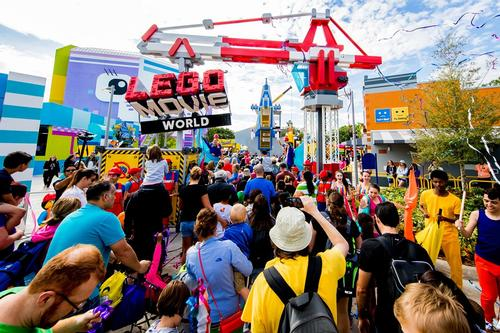 LEGOLAND Florida Opens First LEGO MOVIE WORLD