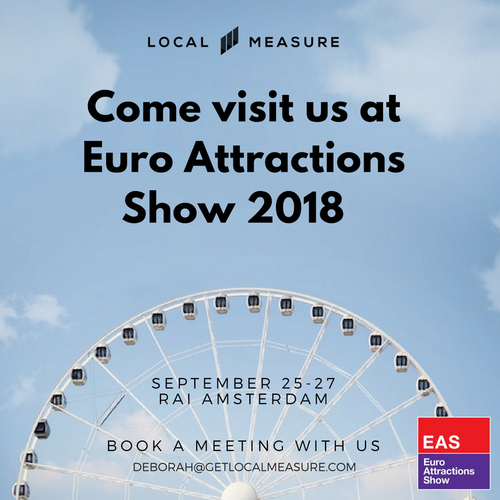 Local Measure to Showcase Real-Time Feedback Tool at the Euro Attractions Show