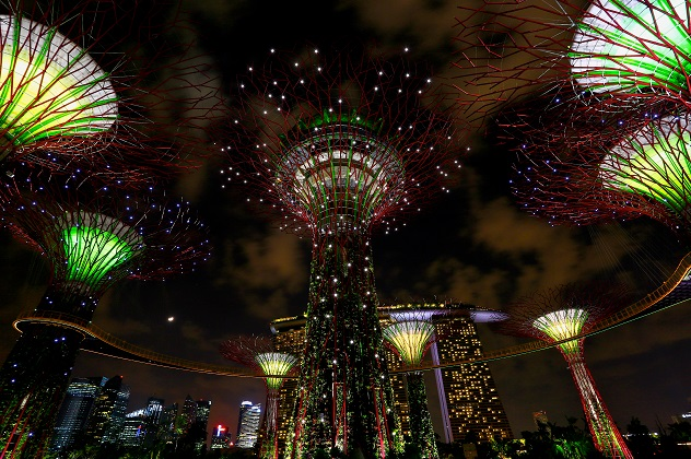 Gardens by the Bay, Singapore - Thea Award for Outstanding Achievement (2014)