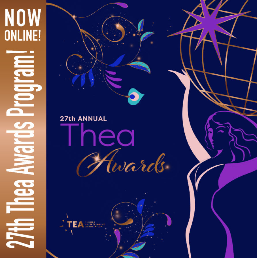 THE 27th THEA AWARDS PROGRAM Is NOW ONLINE!