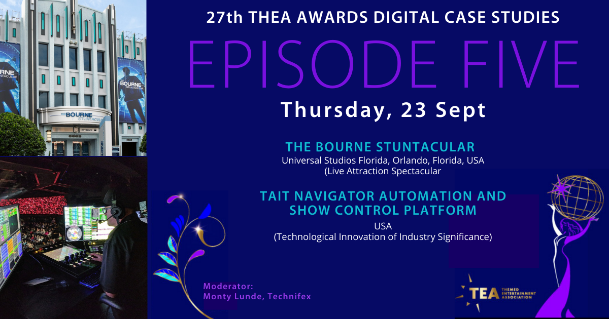 Week of September 20: 27th THEA Awards Digital Case Studies Series Episode 5 & TEA Eastern Division In-Person Mixer at Boxi Park (Orlando, FL)