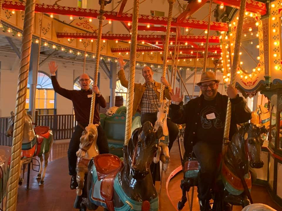 Behind the scenes at Santa Monica Pier with the TEA Western Division - David Price reports