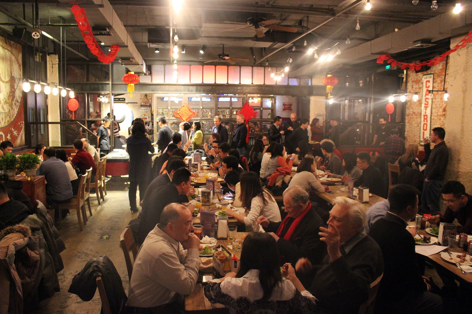 Cold Winter, Warm Gathering: 90 attend TEA mixer in Beijing Feb 8