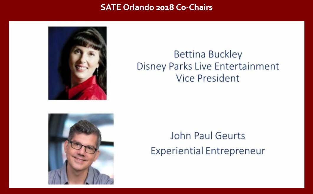 Interview with Bettina Buckley and John Paul Geurts, co-chairs of TEA SATE Orlando - SeaWorld, Oct 4-5, 2018