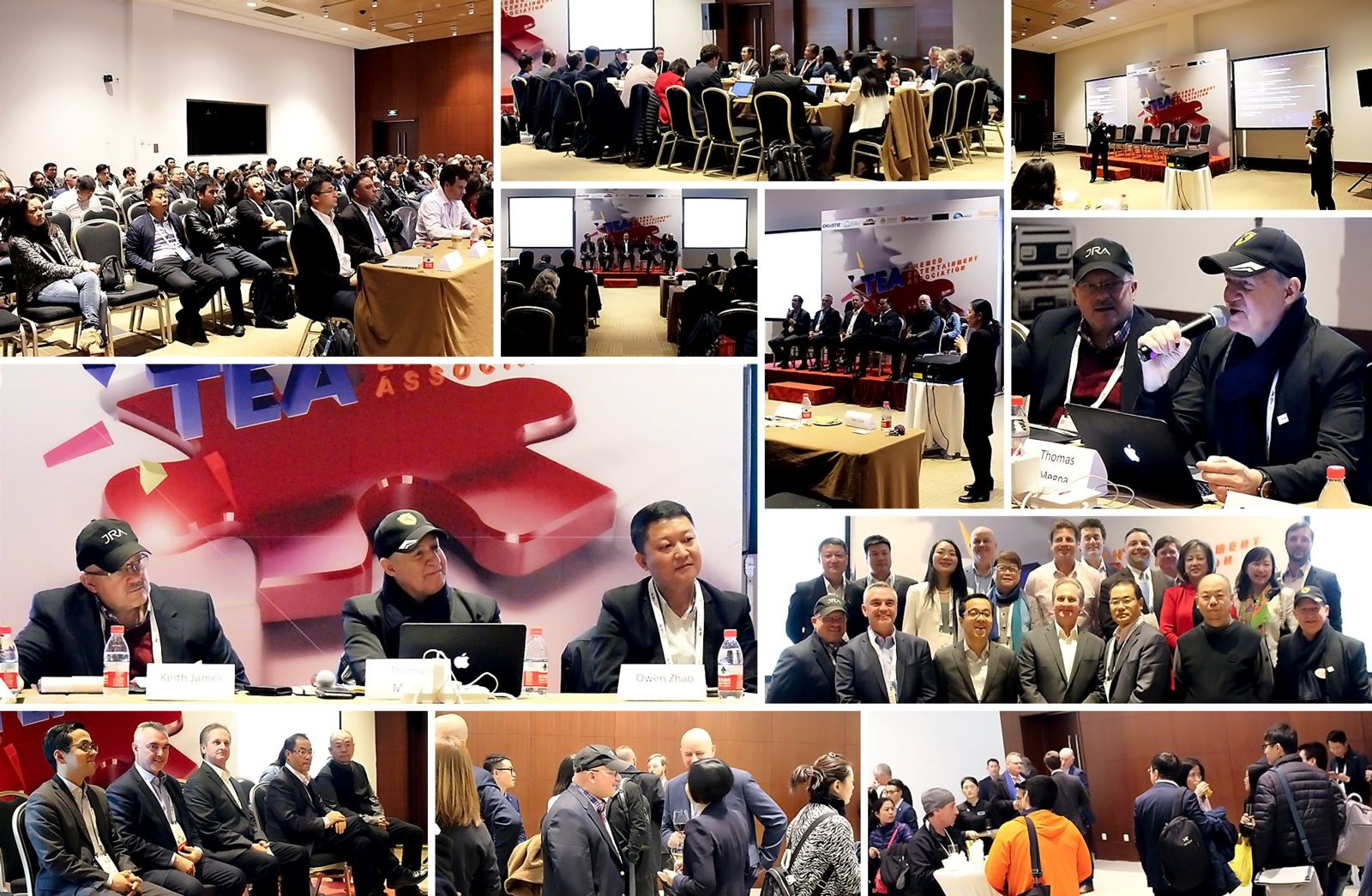 Beijing: TEA Asia Pacific Division meets with park owners at CAAPA 2018