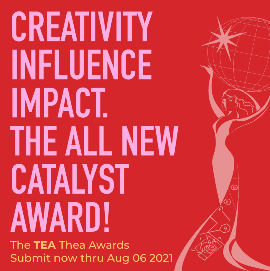 28th Annual Thea Awards - The Catalyst Award - Call for Submissions