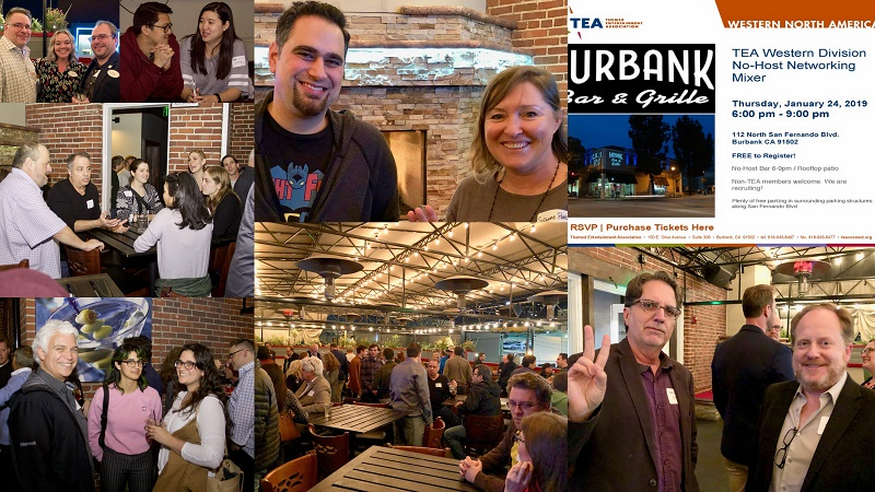 Burbank mixer in Jan 2019 draws 200+ industry members