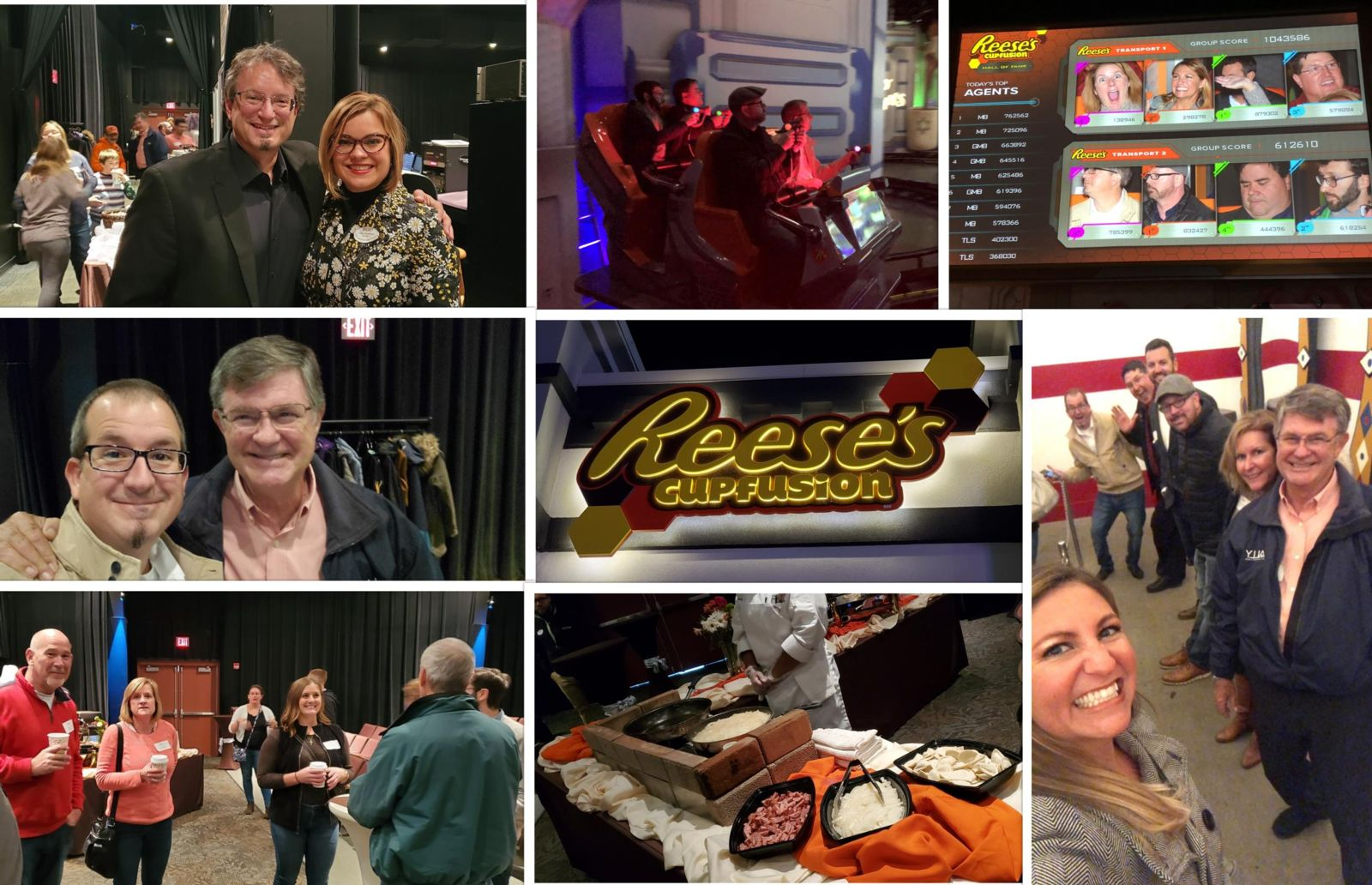 A sweet TEA gathering at Reese's Cupfusion? at Hersheypark?, November 2019