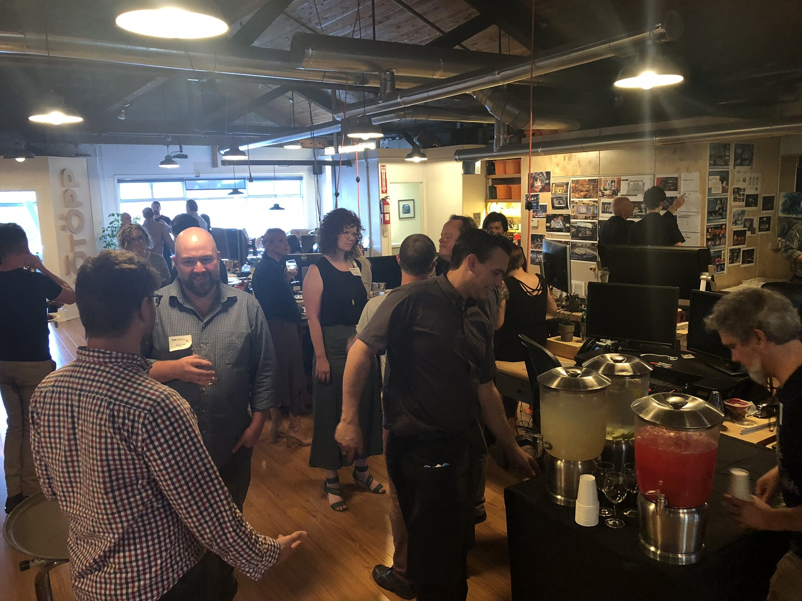 Hotopp hosts 70 industry members at Seattle gathering in August 2018