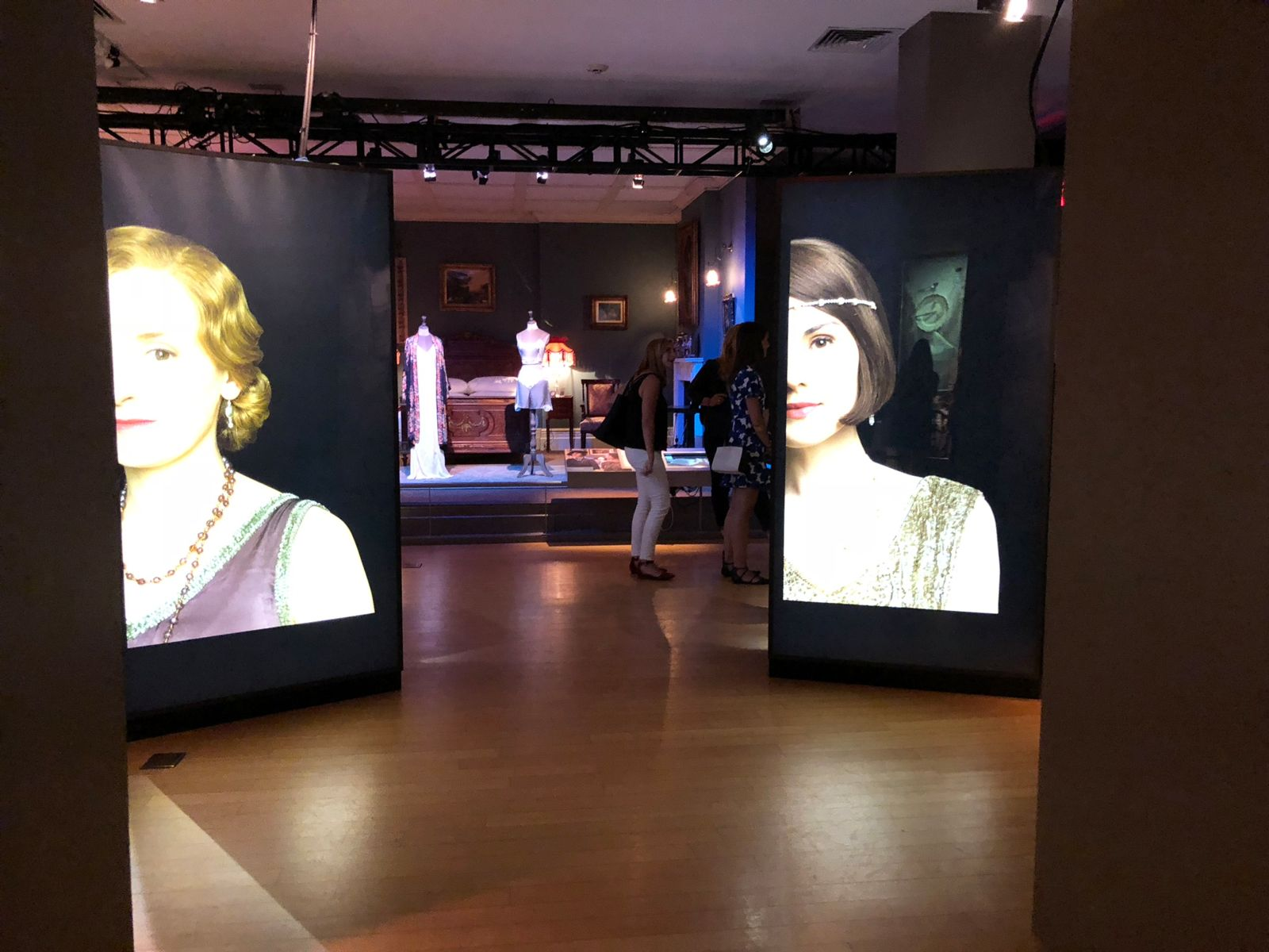 TEA members go behind the scenes at Downton Abbey: the Exhibition in NYC