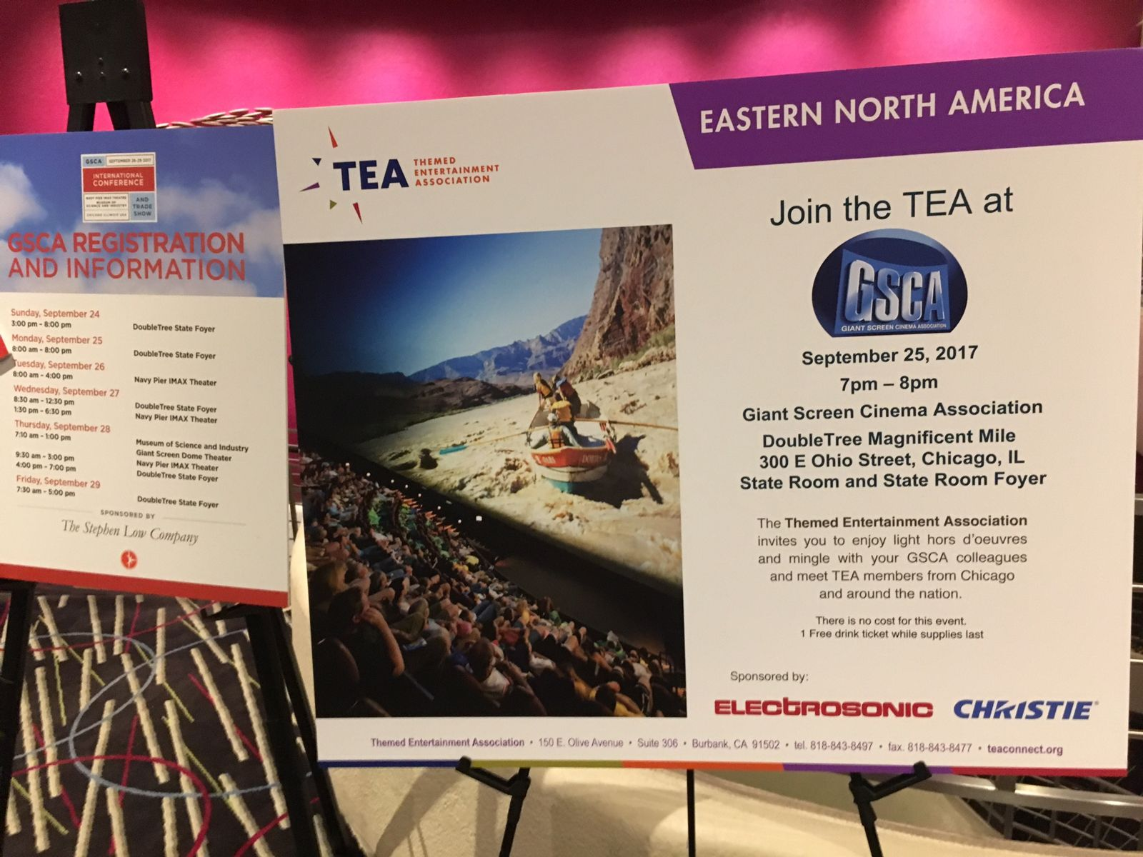 150 attend TEA mixer at GSCA 2017 in Chicago