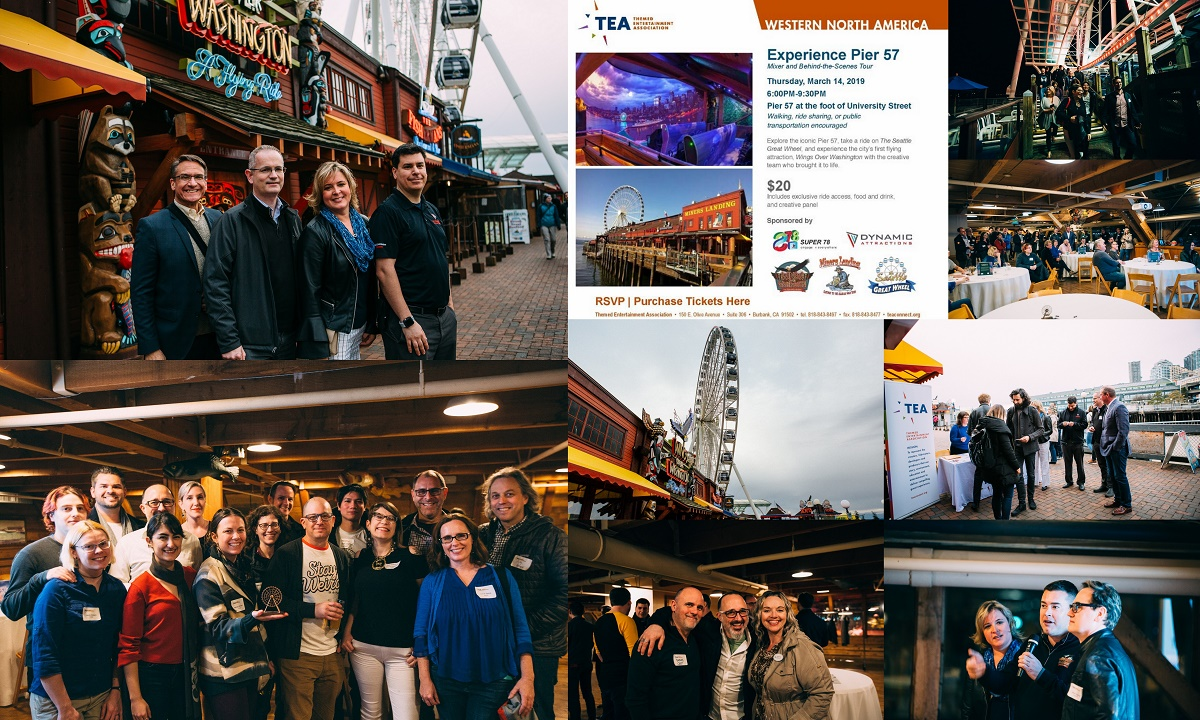 Seattle: 70 people explore Pier 57 attractions at TEA Western Division event - Ian Klein reports