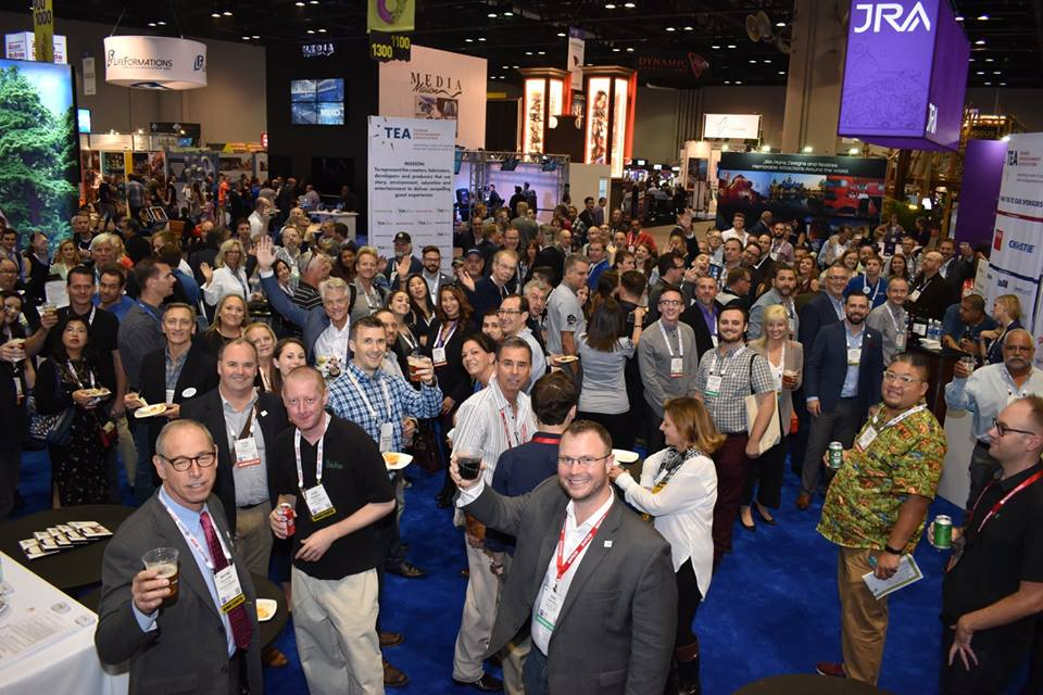 TEA at the 2019 IAAPA Expo - Seven ways to connect!