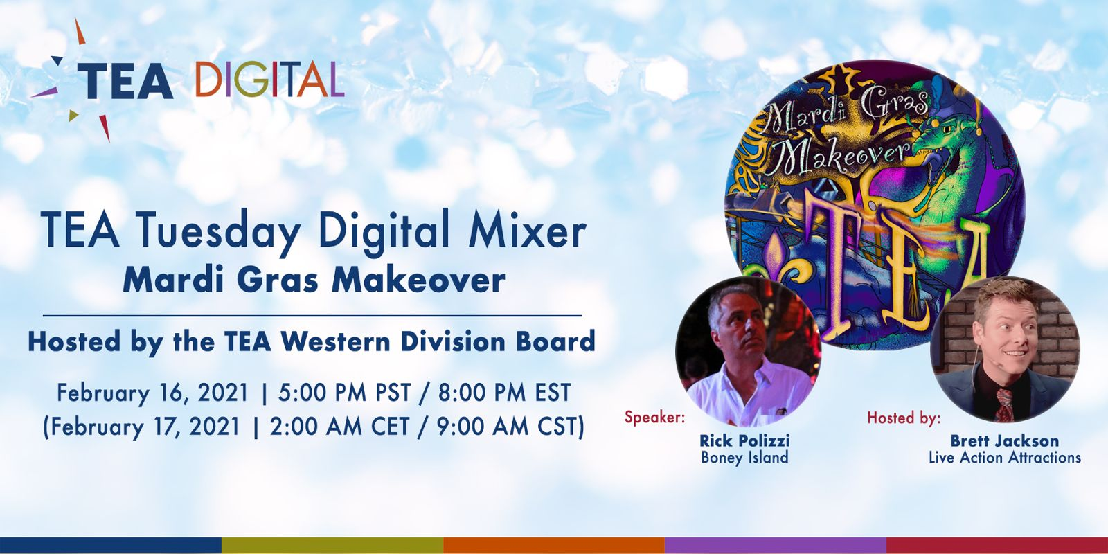 TEA Digital Presents: Mardi Gras Makeover