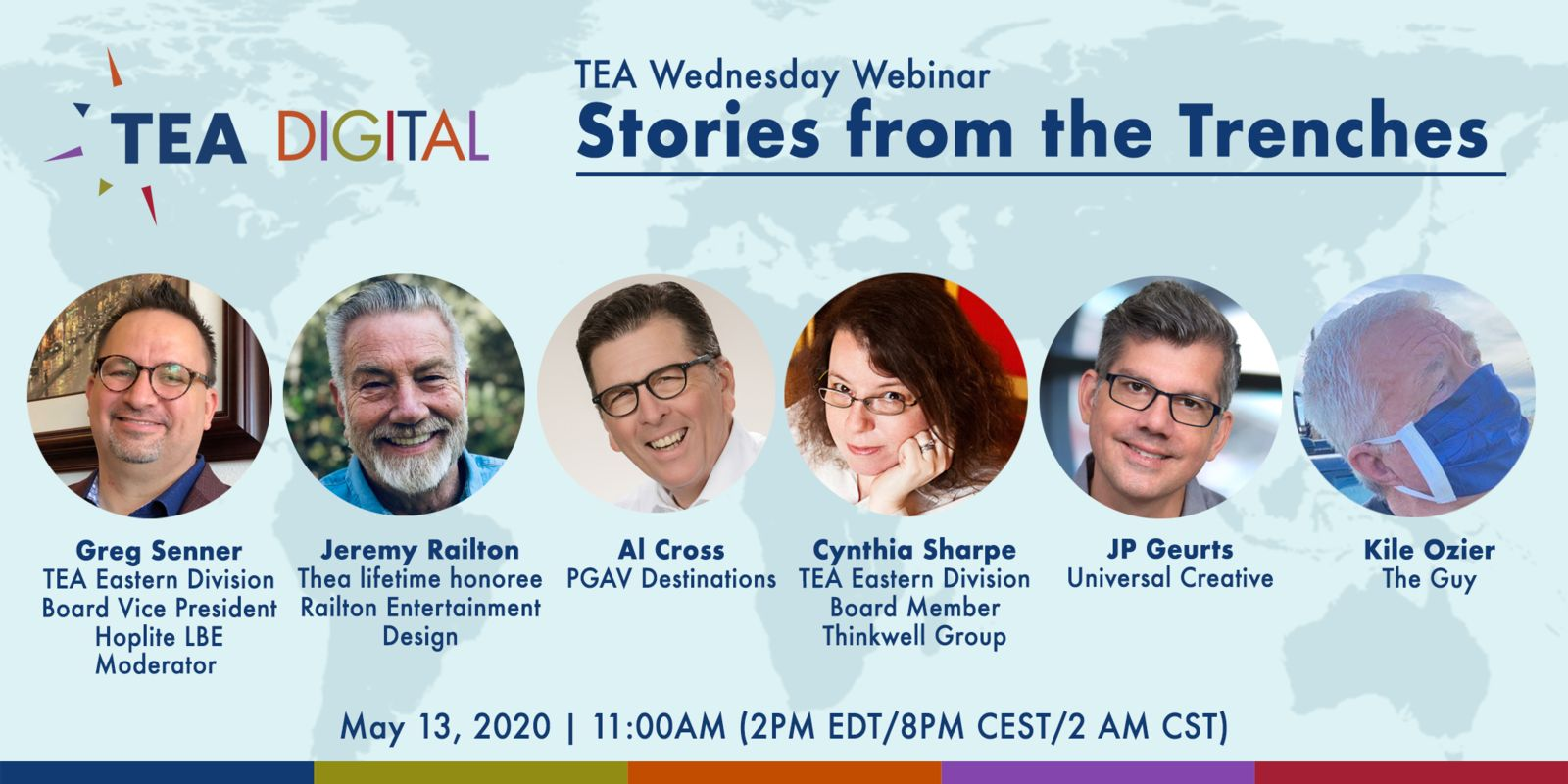 Stories from the Trenches: Greg Senner reports on the May 13 TEA webinar