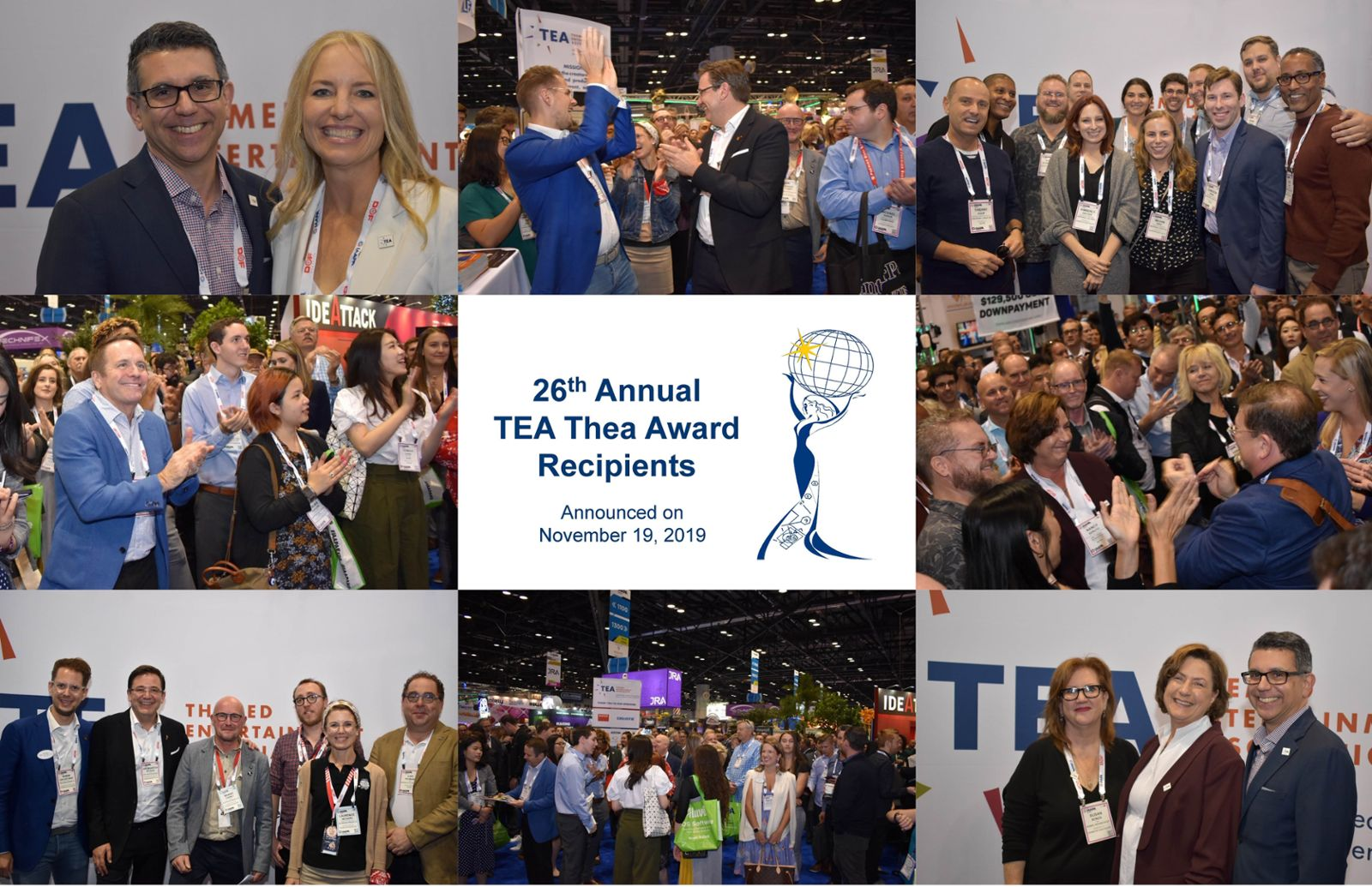 TEA announces Thea recipients, welcomes new Board members, networks and connects at IAAPA Expo Orlando 2019