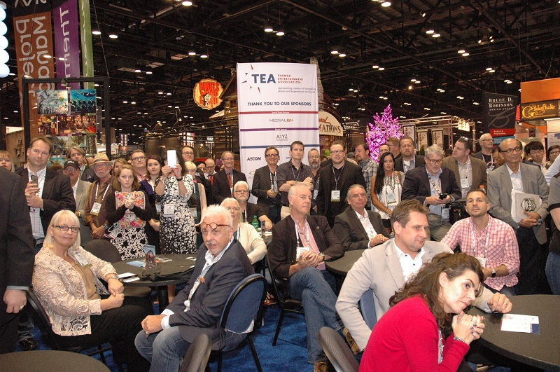TEA to announce new Thea Awards recipients Nov 14, 2017 at IAAPA Orlando, 2pm