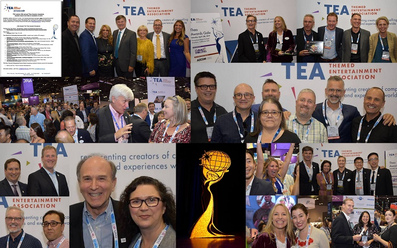 TEA announces Thea recipients, welcomes new Board members, mixes and mingles at IAAPA Attractions Expo Orlando