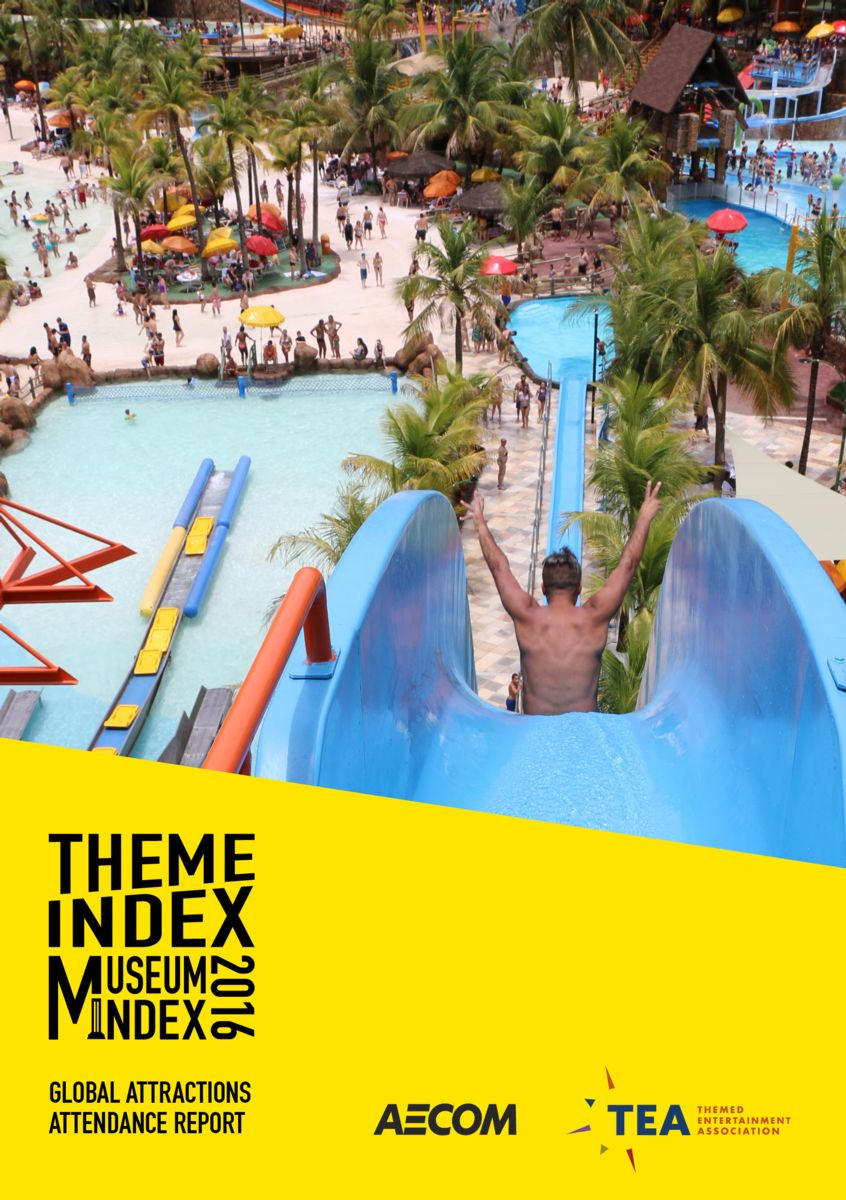TEA and AECOM release 2016 Theme Index and Museum Index in English & Chinese