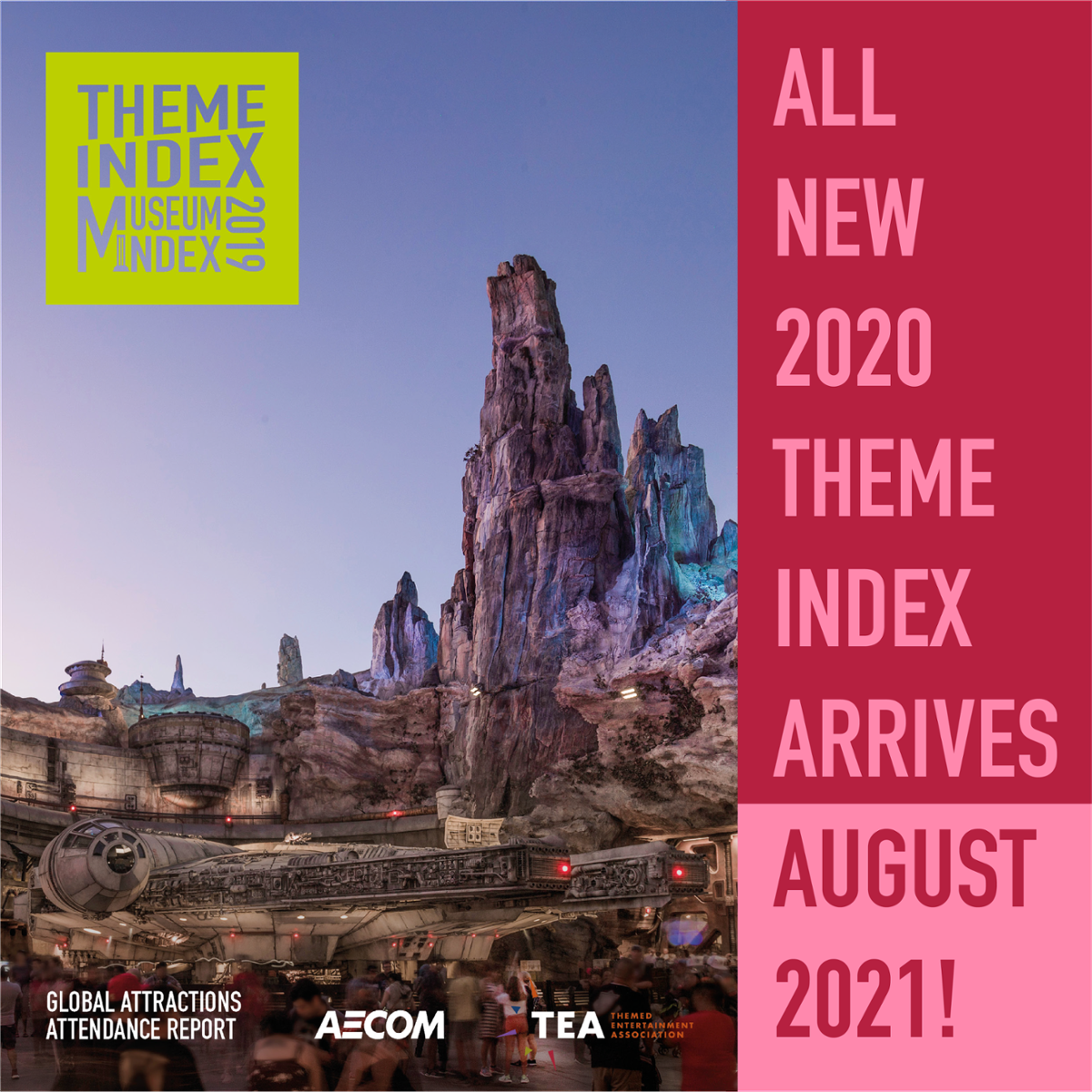 ALL NEW 2020 THEME INDEX - Arrives August 2021!