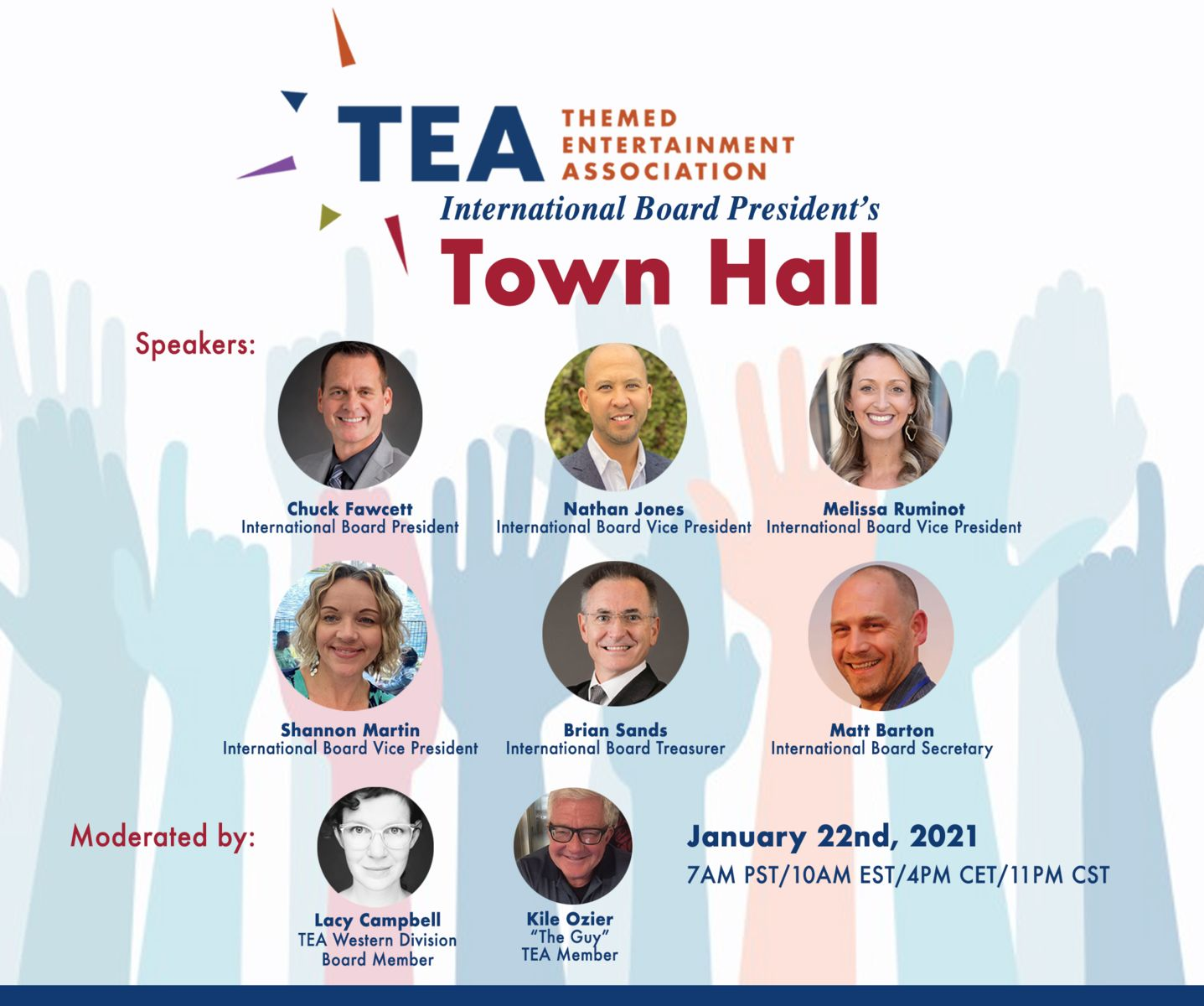 TEA holds first-ever Town Hall Meeting