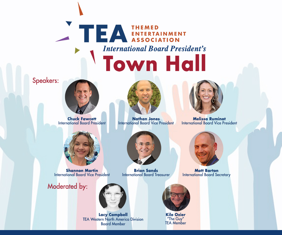 TEA 'TOWN HALL' INVITES GLOBAL CONVERSATION!