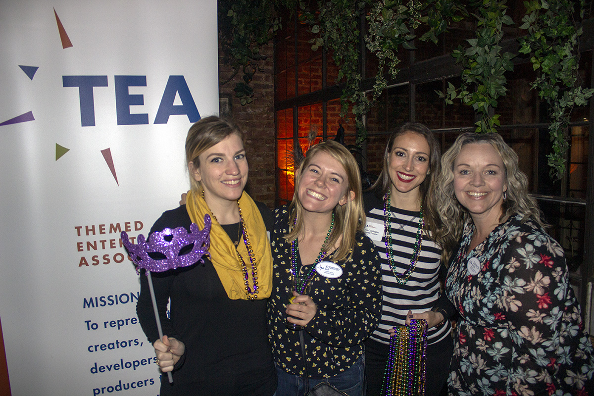 TEA's Mardi Gras themed mixer in Hollywood draws 150 people (Feb 2019)