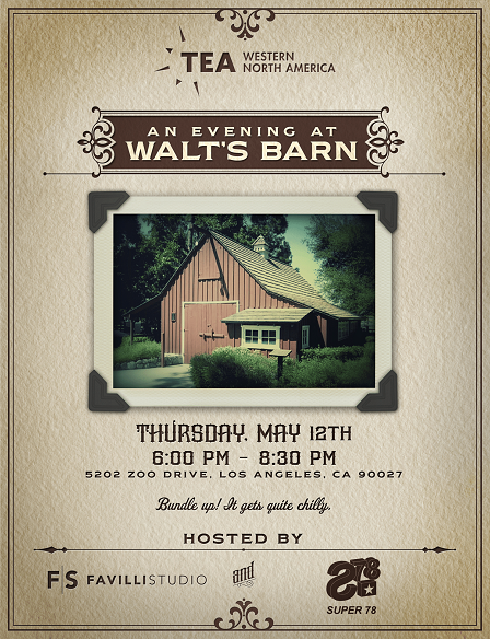 Walt's Barn opens its doors to the Themed Entertainment Association for a Disney-phile dream event