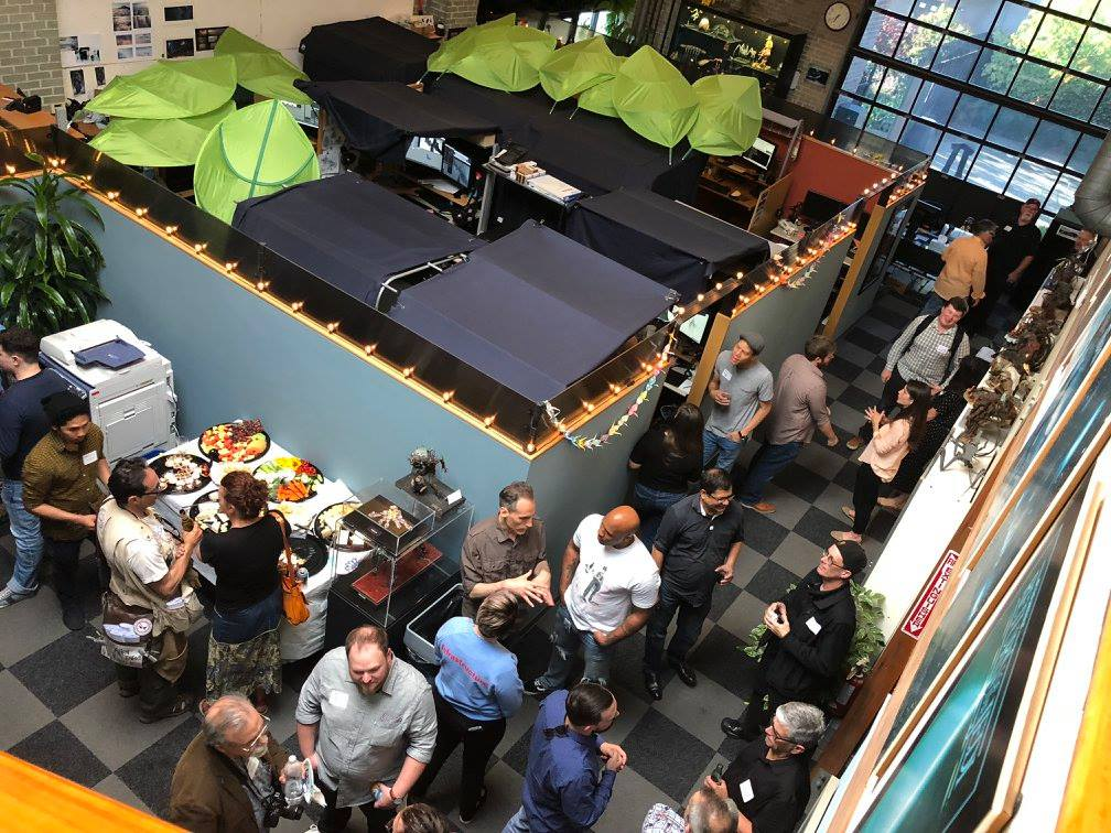 Tippett Studio hosts TEA mixer event for enthusiastic full house of 60 - Berkeley, 11 June 2018