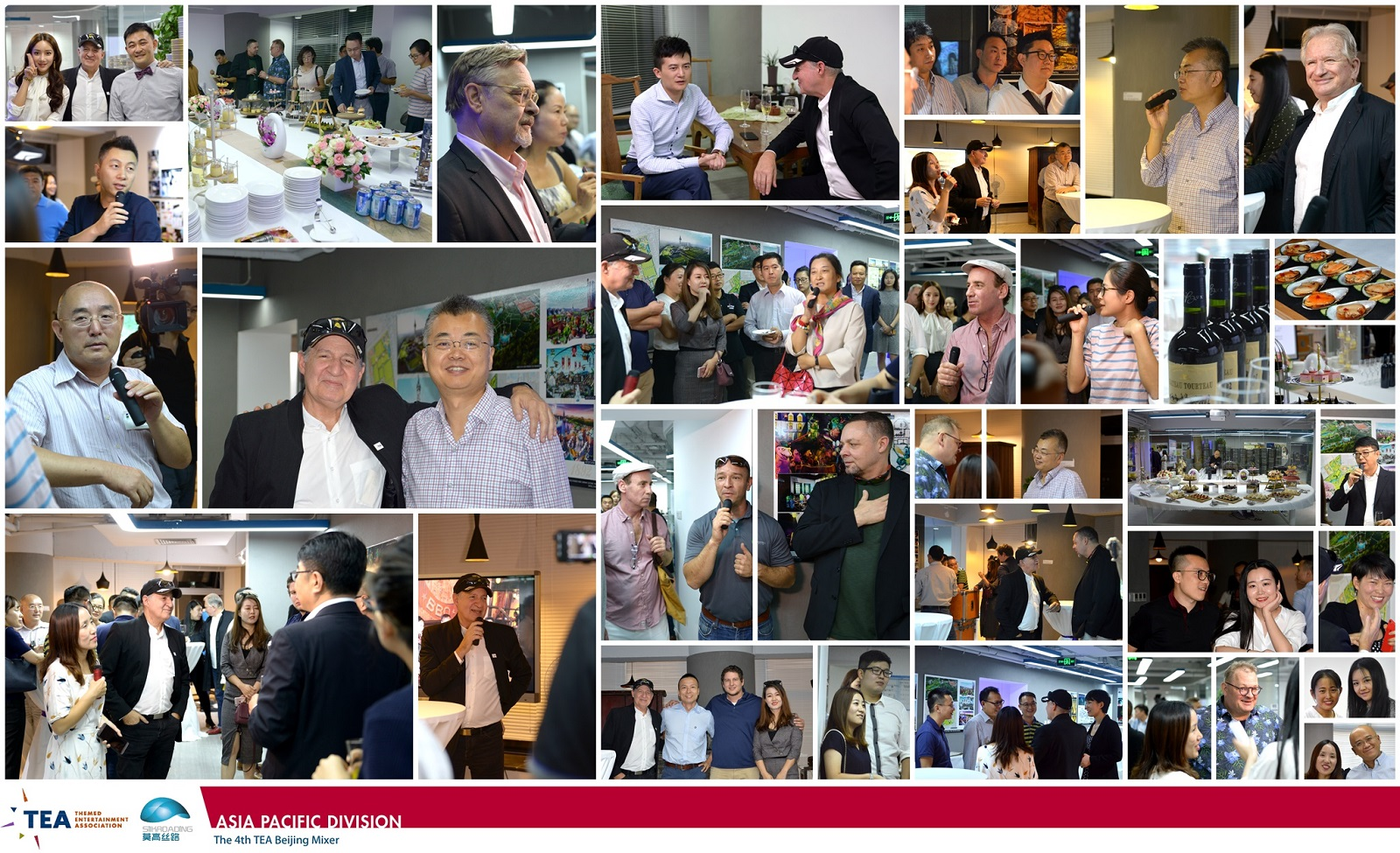 80 attend TEA Asia Pacific Division Beijing Mixer at Silkroading, Sept 22